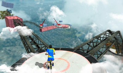 Bike Parkour 3D Impossible Streets of Sky