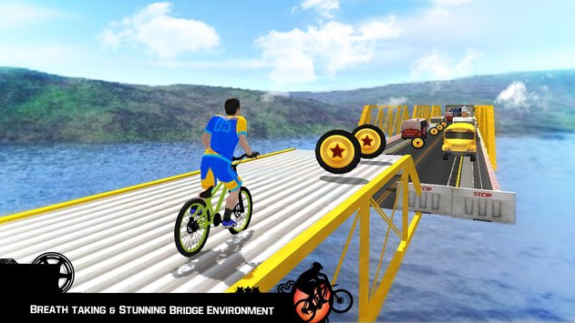 Bike Parkour 3D Impossible Streets of Sky2