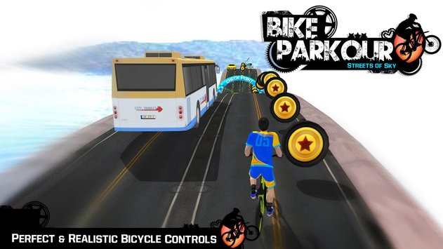 Bike Parkour 3D Impossible Streets of Sky4