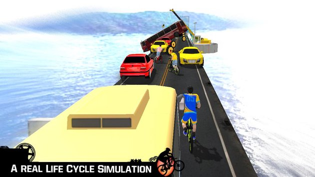 Bike Parkour 3D Impossible Streets of Sky5