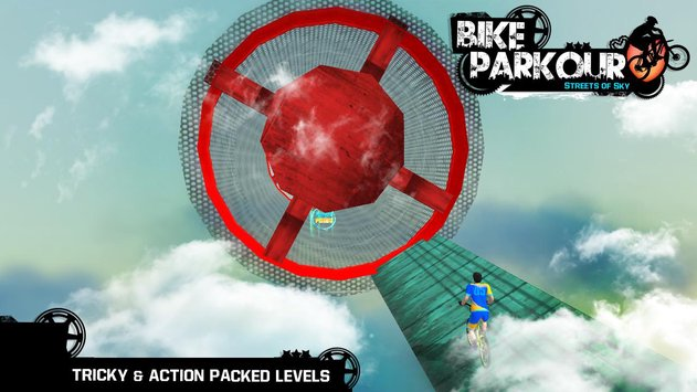 Bike Parkour 3D Impossible Streets of Sky7