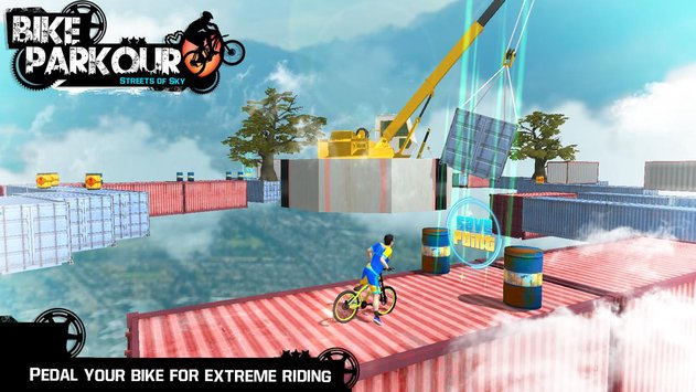 Bike Parkour 3D Impossible Streets of Sky8