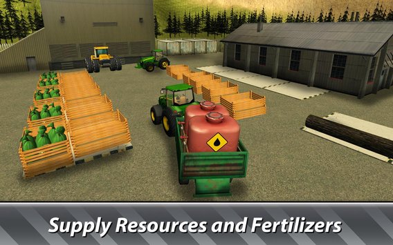 Farm Simulator Hay Tycoon grow and sell crops4