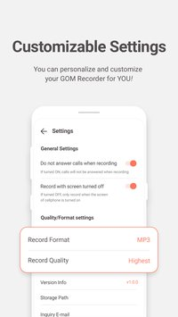 GOM Recorder Voice and Sound Recorder6