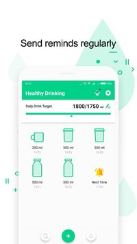Healthy Drinking Water Alarm Hydro Tracker1