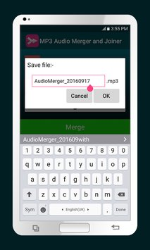 MP3 Audio Merger and Joiner 3