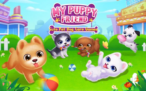My Puppy Friend Cute Pet Dog Care Games1