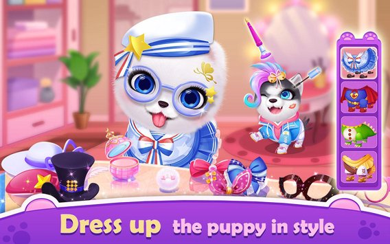 My Puppy Friend Cute Pet Dog Care Games3