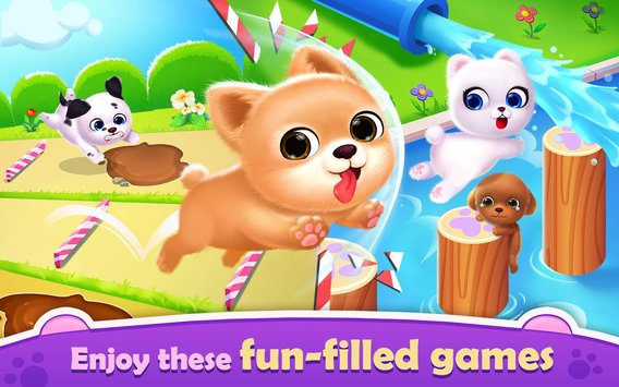My Puppy Friend Cute Pet Dog Care Games4