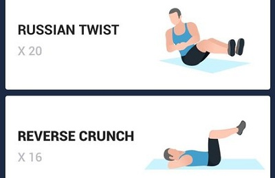 6 Pack Abs in 30 Days Abs Workout