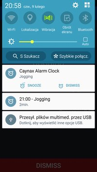 Alarm clock with cyclic alarms and calendar5
