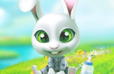 Bu the Baby Bunny Cute pet care game