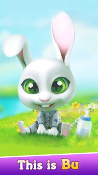 Bu the Baby Bunny Cute pet care game1