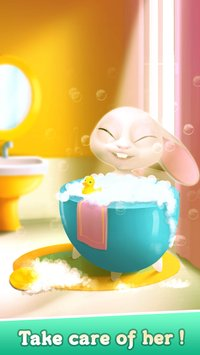 Bu the Baby Bunny Cute pet care game3