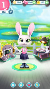 Bu the Baby Bunny Cute pet care game6