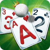 Golf Solitaire Green Shot