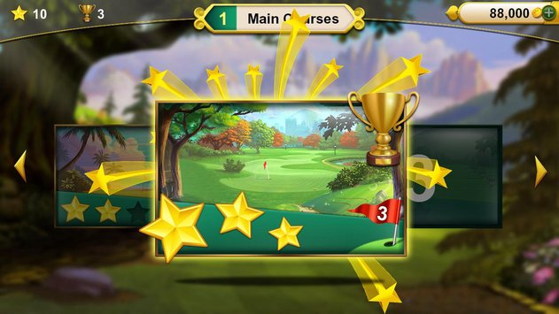 Golf Solitaire Green Shot3