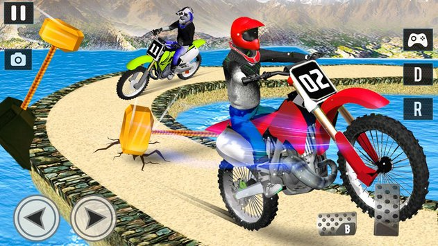 Offroad Moto Bike Impossible Stunt Racing2