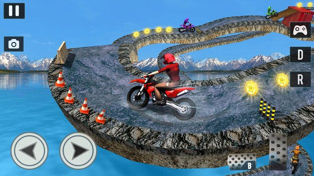 Offroad Moto Bike Impossible Stunt Racing3