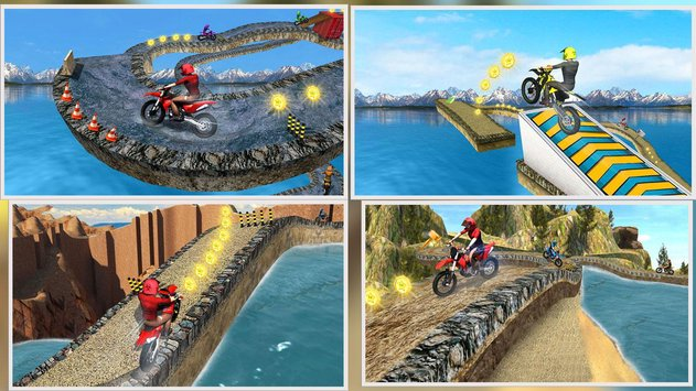 Offroad Moto Bike Impossible Stunt Racing6