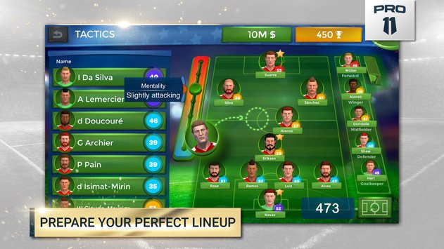 Pro 11 Soccer Manager Game2