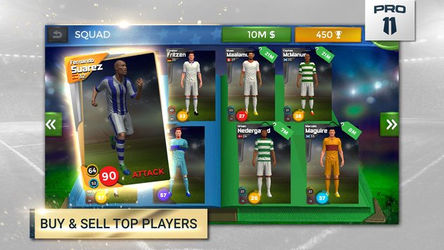 Pro 11 Soccer Manager Game3
