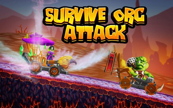 Smash and Drive Orc Destruction Racing Game2