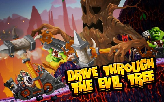 Smash and Drive Orc Destruction Racing Game5