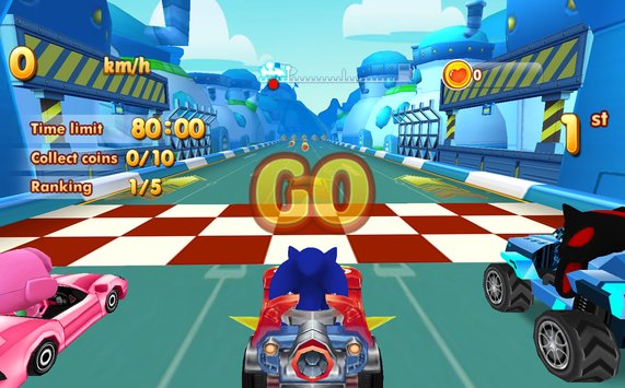 Sonic Chibi Race 3D Free Kart Car Racing Game1