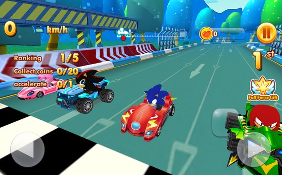 Sonic Chibi Race 3D Free Kart Car Racing Game2