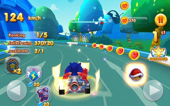 Sonic Chibi Race 3D Free Kart Car Racing Game4