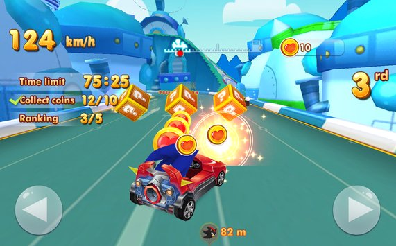 Sonic Chibi Race 3D Free Kart Car Racing Game5