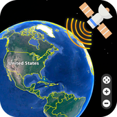 Live Earth Map 2018 Satellite View GPS Tracker