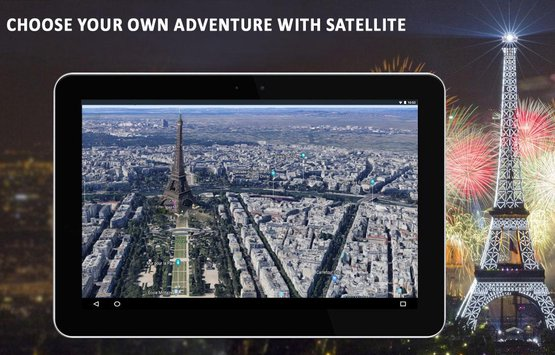 Live Earth Map 2018 Satellite View GPS Tracker3