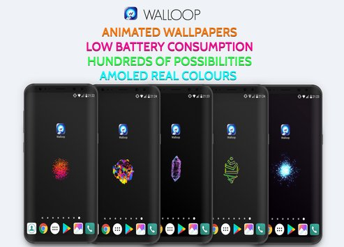 Live Wallpaper HD Backgrounds 4K3D Walloop9