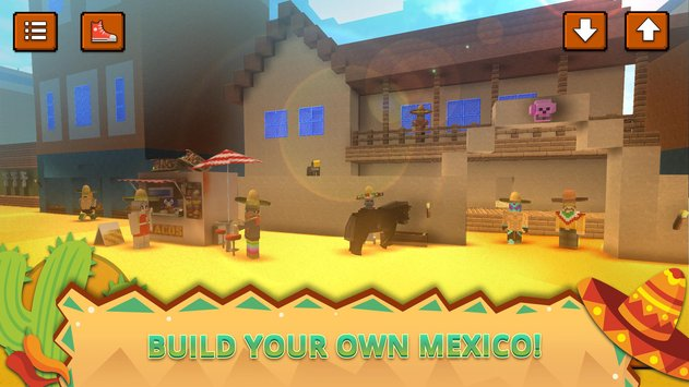 Mexico Craft Bison Burrito World Crafting Games1