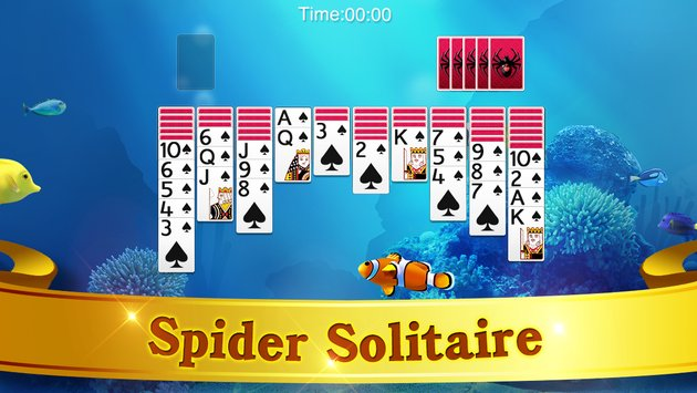 Spider Solitaire1