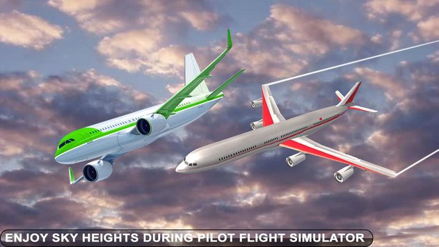 Airplane Pilot Flight Race Simulator4