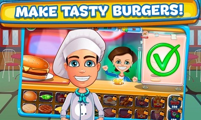Cheeseburger Cooking Tycoon Fast Food Restaurant