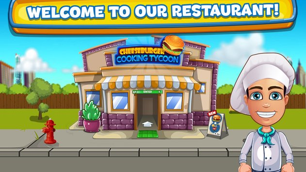 Cheeseburger Cooking Tycoon Fast Food Restaurant1