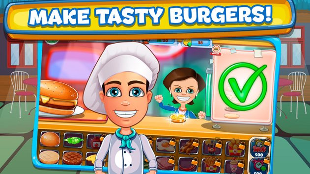 Cheeseburger Cooking Tycoon Fast Food Restaurant2