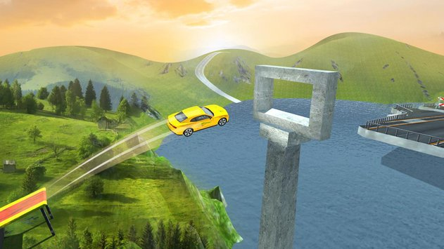 Extreme Car Driving Free Impossible Stunts 3