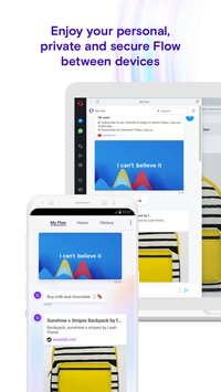 Opera Touch the fast new browser with Flow7