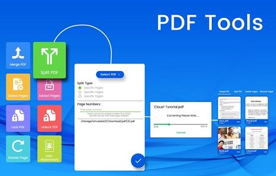 PDF Tools Merge Rotate Watermark Split