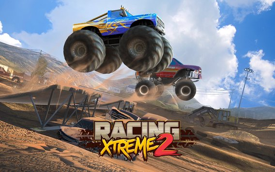Racing Xtreme 2 Top Monster Truck Offroad Fun2