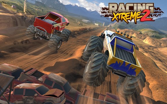 Racing Xtreme 2 Top Monster Truck Offroad Fun4