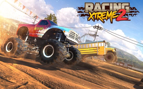 Racing Xtreme 2 Top Monster Truck Offroad Fun7