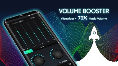Super Music Volume Booster Equalizer Bass Booster