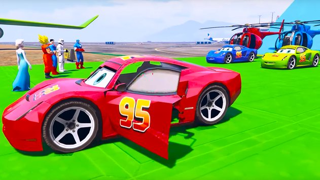 Superheroes Fast Highway Racing Challenges1