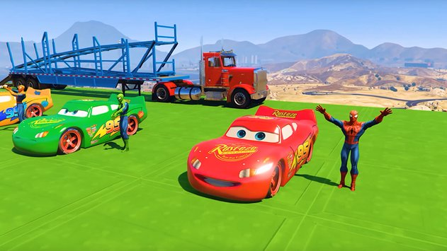 Superheroes Fast Highway Racing Challenges2